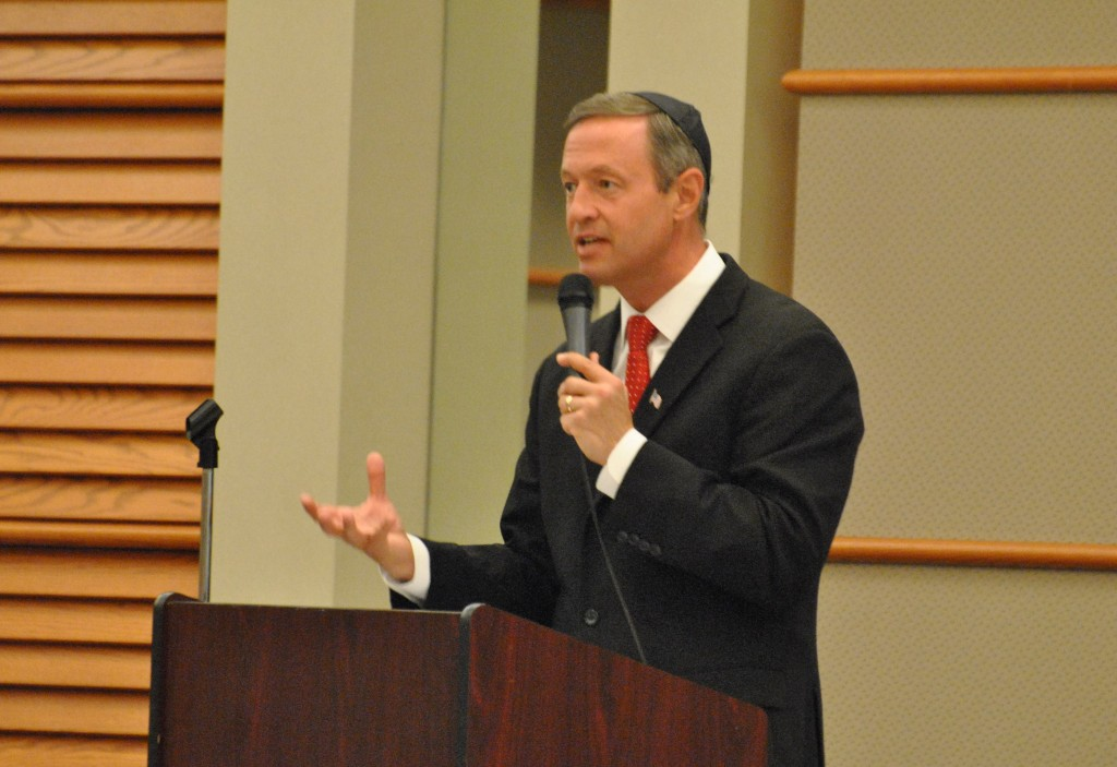 Martin O'Malley strongest Democratic challenger to Bernie Sanders, Hillary Clinton