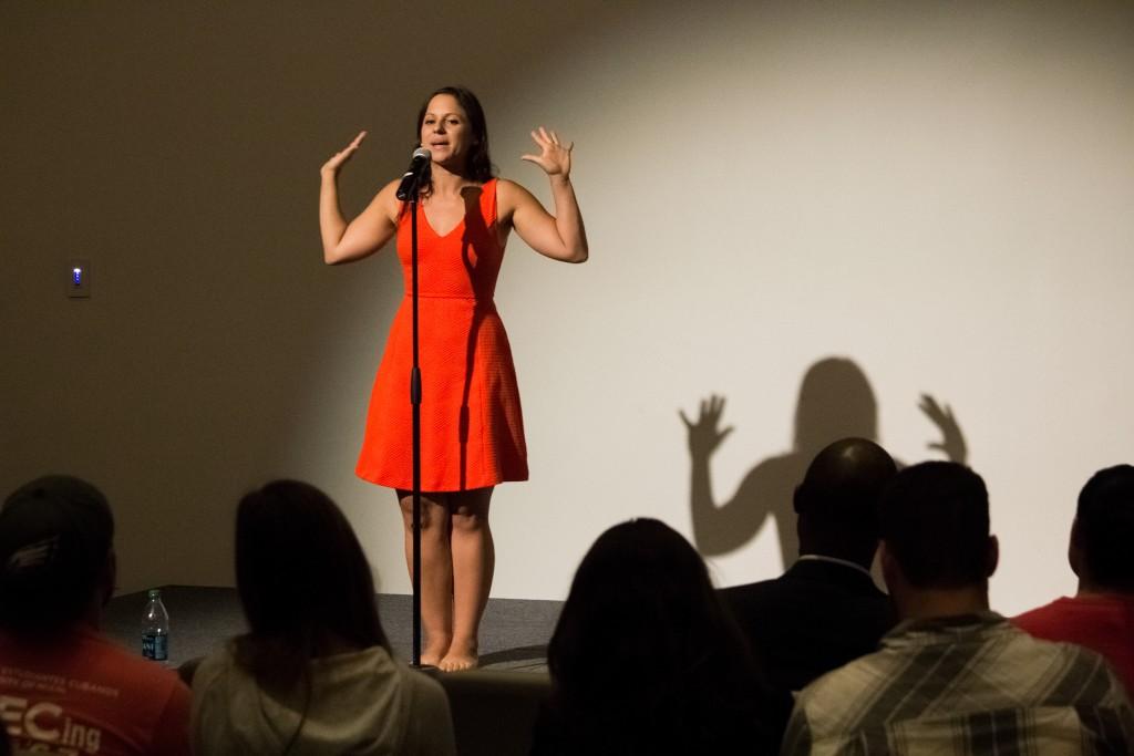 Photo of the Week: An Evening with Gabriela Garcia Medina