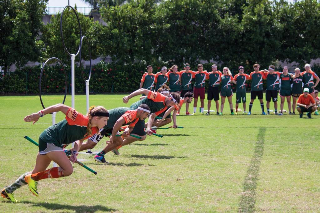 UM quidditch team prevails despite injuries, heat tainting tournament