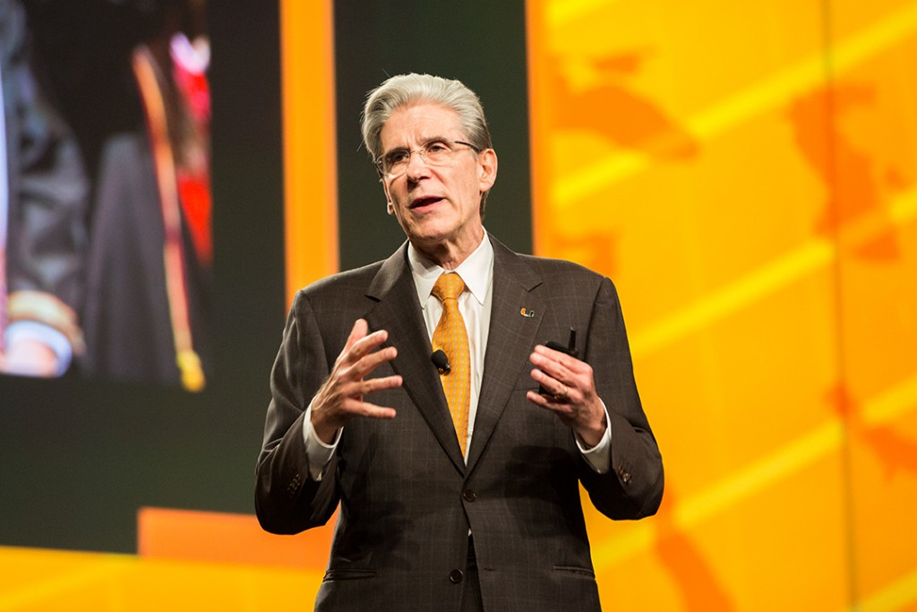 President Julio Frenk establishes April 8 as Founder's Day