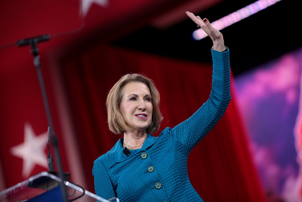Carly Fiorina still in 2016 race
