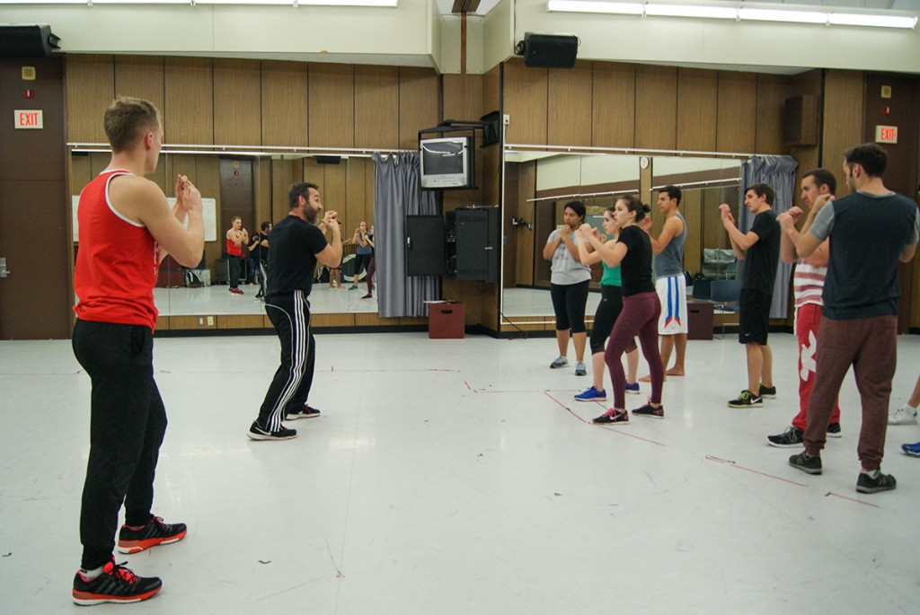 Theatre professor Soroko teaches art of stage fights