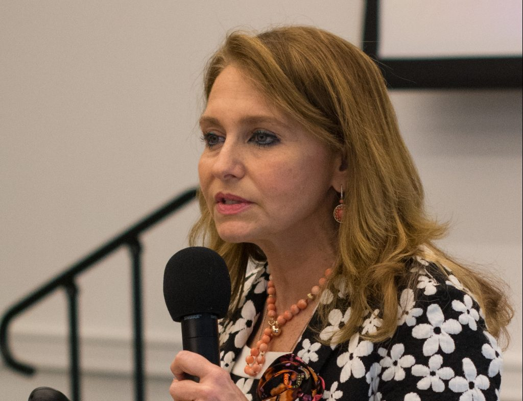 First Lady Felicia Knaul's research motivated by personal experience with breast cancer