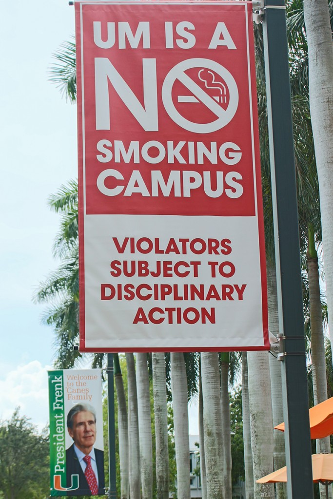 Despite numerous resources, smoke-free campus needs full student support