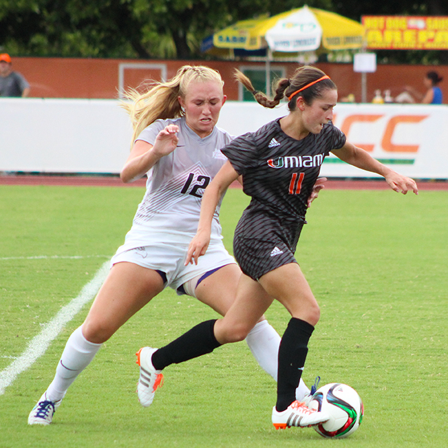 Canes soccer wins third in a row with 5-1 rout over North Florida