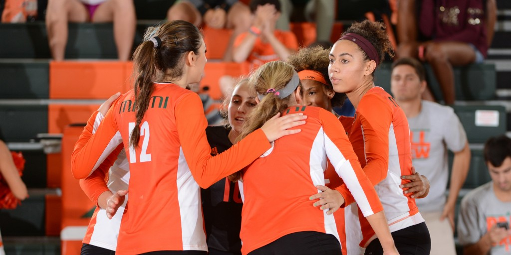 Canes volleyball season ends in 3-0 loss to Iowa State