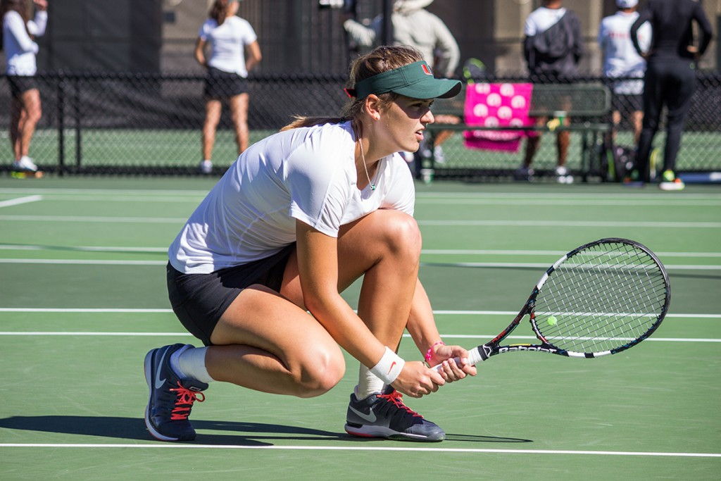 Stephanie Wagner leads Canes tennis with impressive showing in the USTA/ITA Southeast Regionals