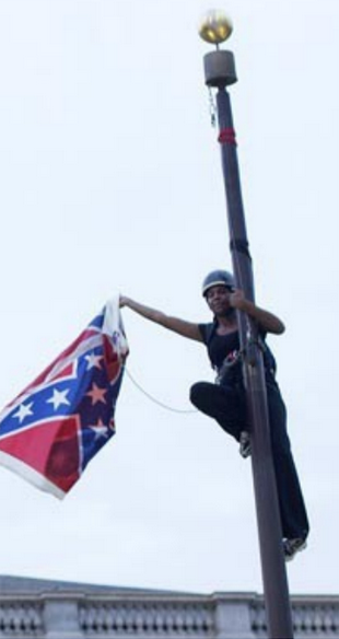 Bree Newsome, activist who removed Confederate flag from SC Capitol flagpole, visits UM