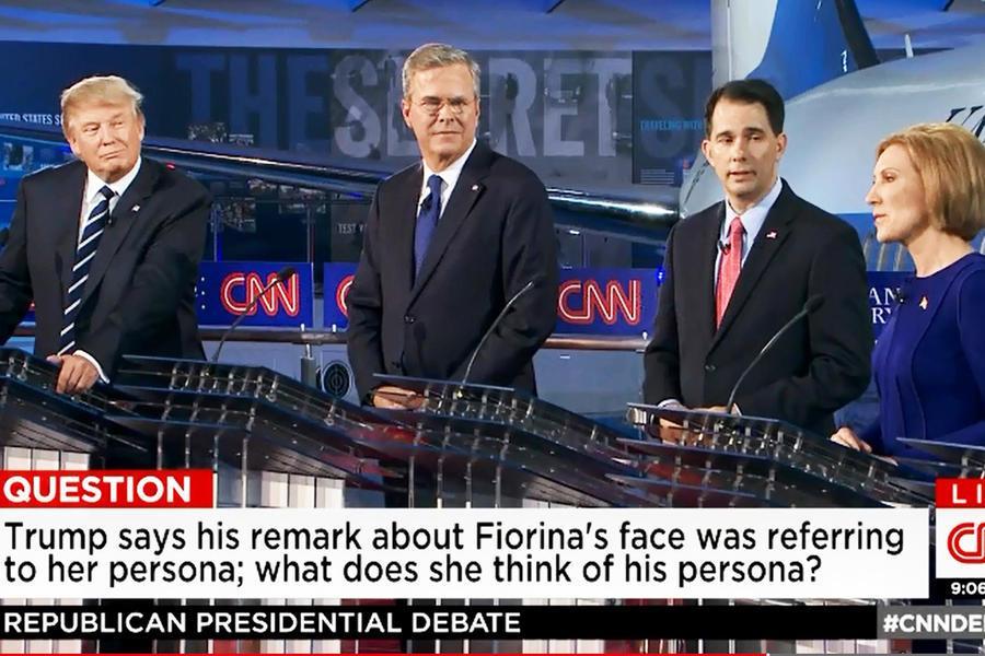 Overcrowded GOP debate unfocused, filled with 'goobledygook'