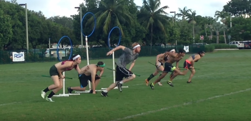 VIDEO: Teams across Florida compete in Canes Classic Quidditch Tournament
