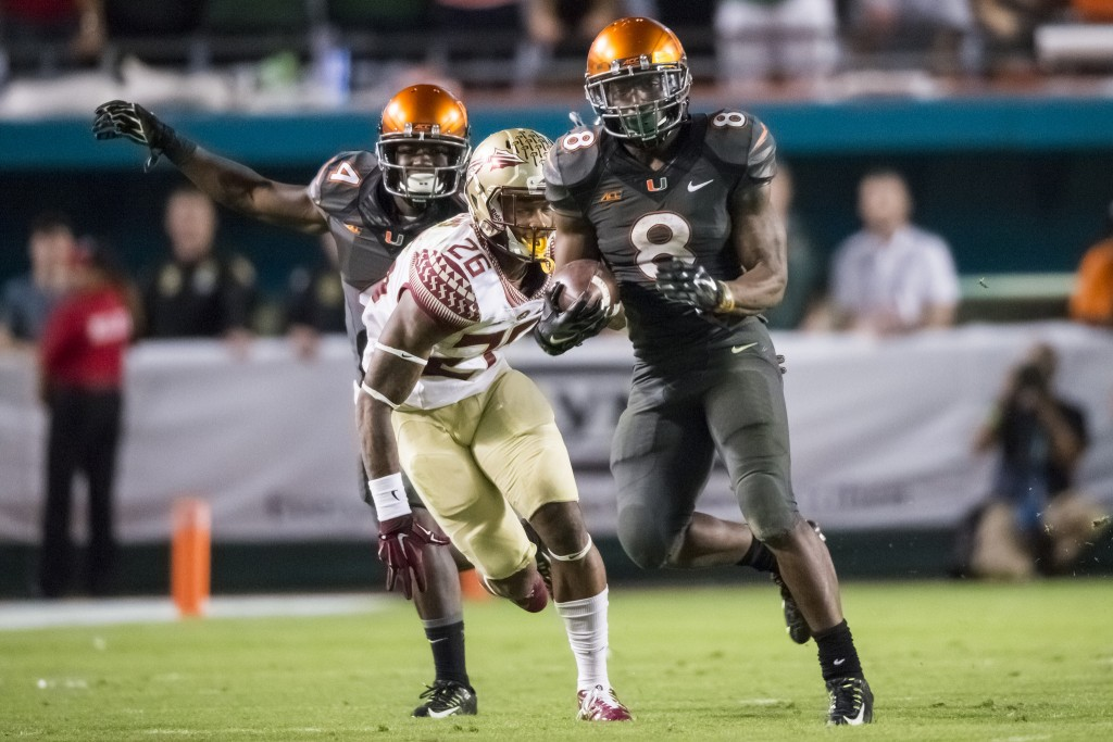 Hurricanes look to flip narrative against Florida State