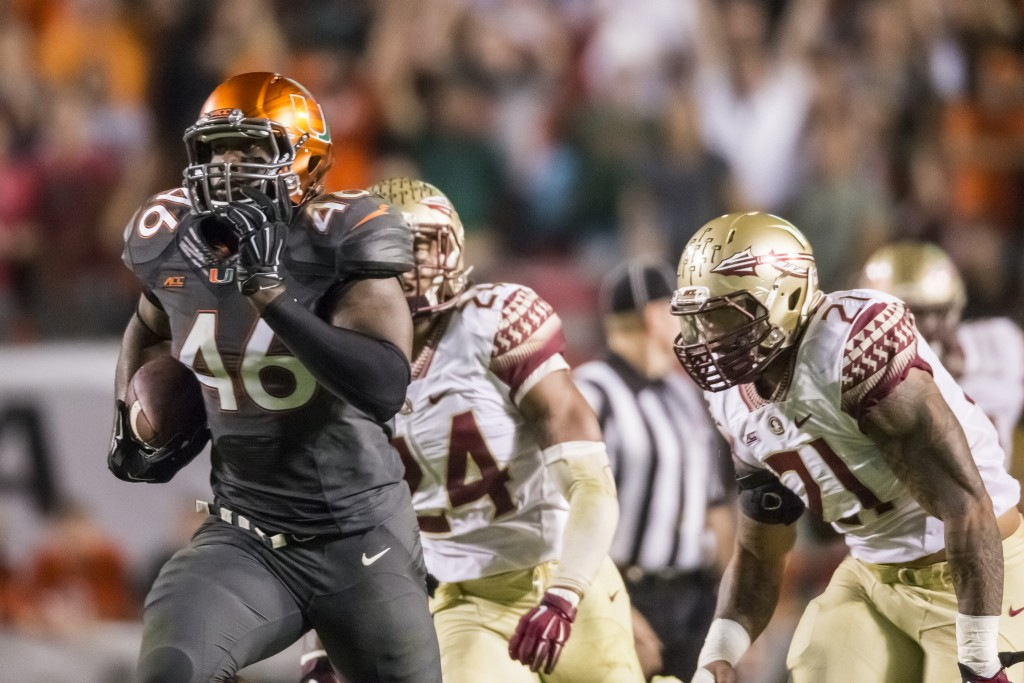 Canes hope to rebound against FSU after disappointing close call last year