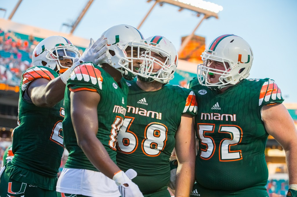 Miami Hurricanes still in the hunt for an ACC Coastal title