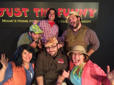 Just the Funny features a variety of affordable and themed comedy shows throughout the weekend. Photo Courtesy Just the Funny