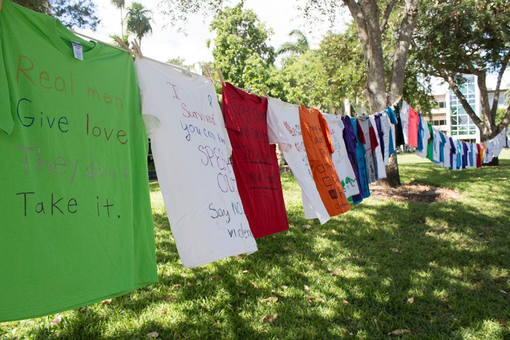 Clothesline Project raises domestic abuse, violence awareness