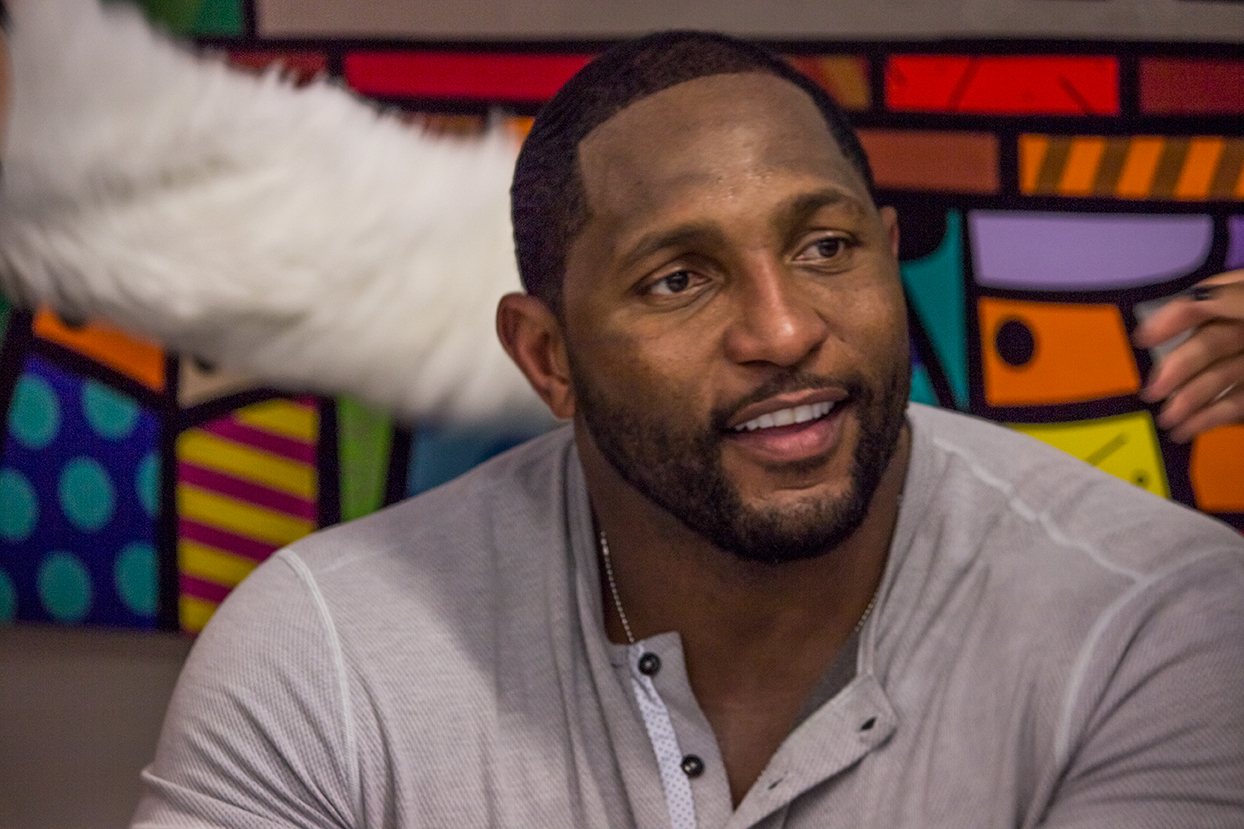 Quote By Retired Nfl Player Ray Lewis: Ray Lewis Discusses Hurricanes Football Team During Book