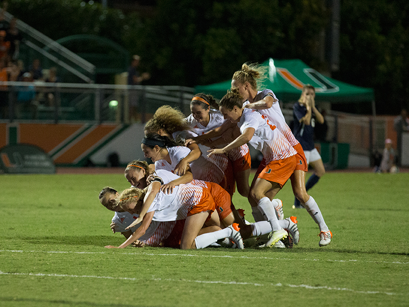 Photo of the Week: Miami soccer's victory against Notre Dame
