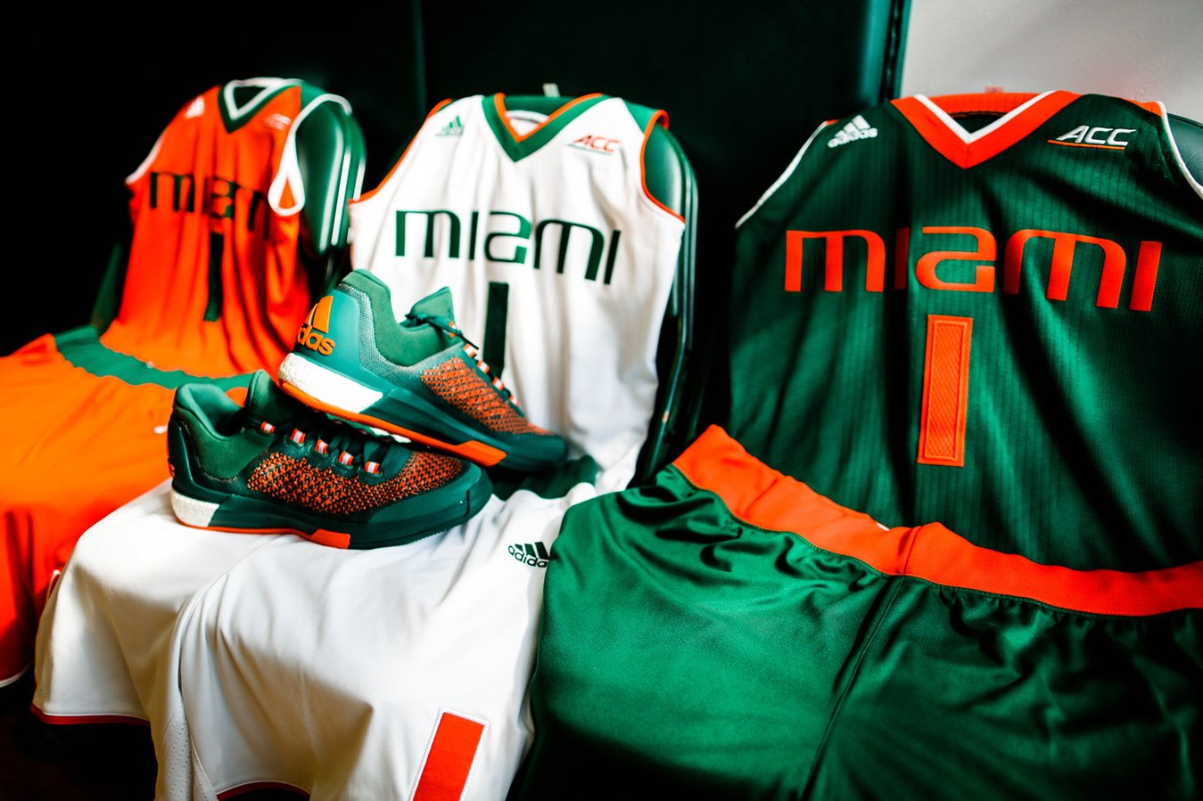 a758c8d27d2 Miami s basketball teams unveil new uniforms. Feature photo courtesy  HurricaneSports.com.