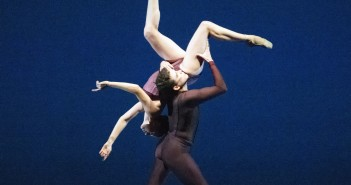 Jennifer Kronenberg and Carlos Guerra in Viscera. Photo Courtesy Gene Schiavone