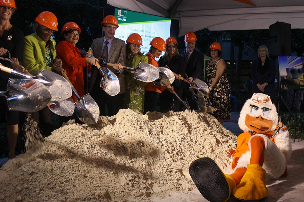 School of Nursing breaks ground for simulation hospital