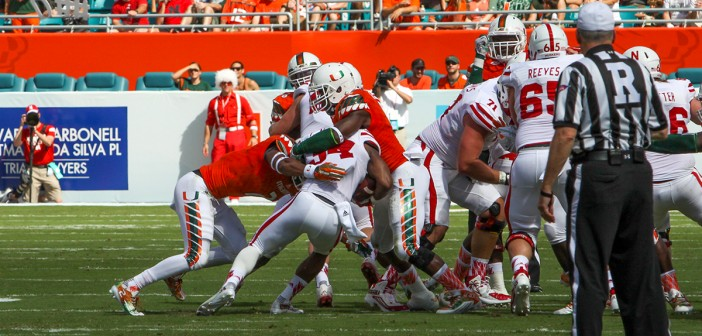Miami football players hope to be drafted by NFL next week