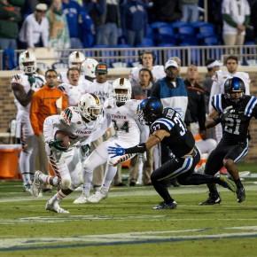 SPORTS_Football v Duke_Hurricane Sports