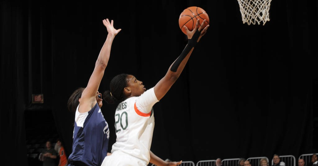 Canes benefit from return of versatile forward Keyona Hayes