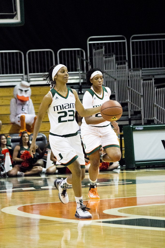 Hurricanes women's basketball drops final home game 79-51 to Louisville