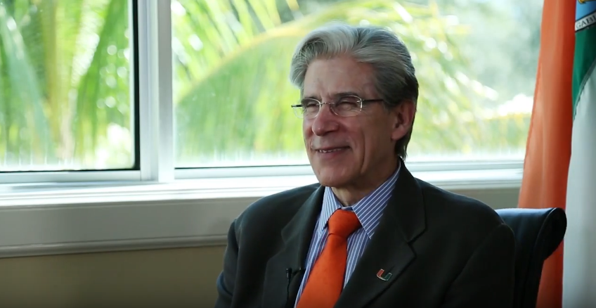 VIDEO: President Julio Frenk explains shirtless picture
