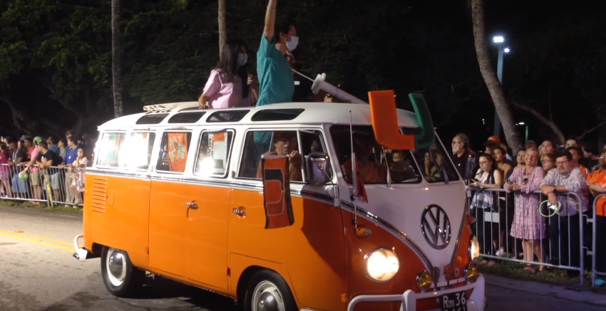 Homecoming Parade highlights UM, Miami relationship through the decades