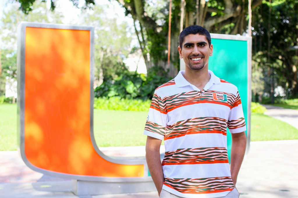 Junior Nick Kaleel promotes love of alma mater through UM Spirit Programming Board