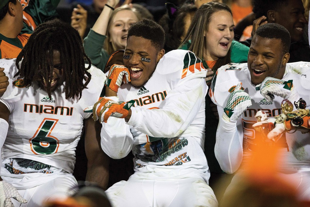 Miami Hurricanes wrap up dramatic 2015 football season