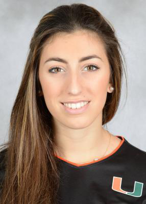 Greek sophomore transfer Olga Strantzali finishes her first Miami season strong