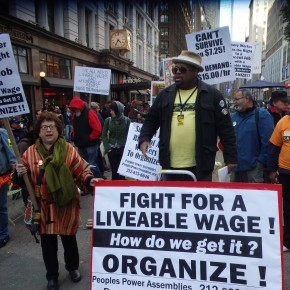 NYC Rally To Raise The Minimum Wage