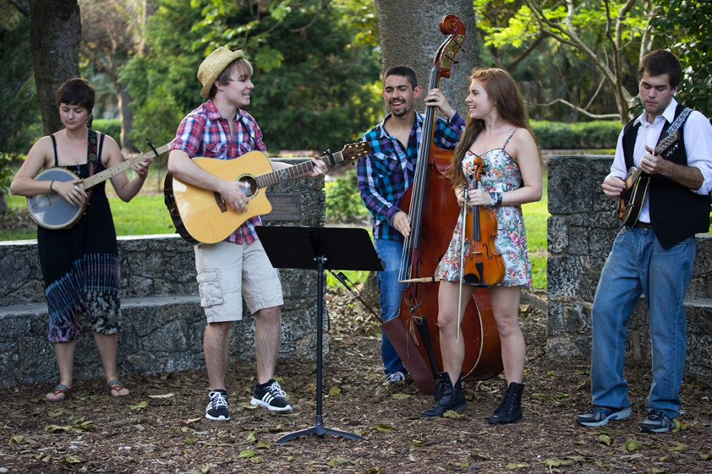 Big City Folk Band plays a concert for the local community in the UM Arboretum last Spring. The band, composed of UM students, performs original and cover songs in both the traditional folk and country style. Hallee Meltzer // Photo Editor
