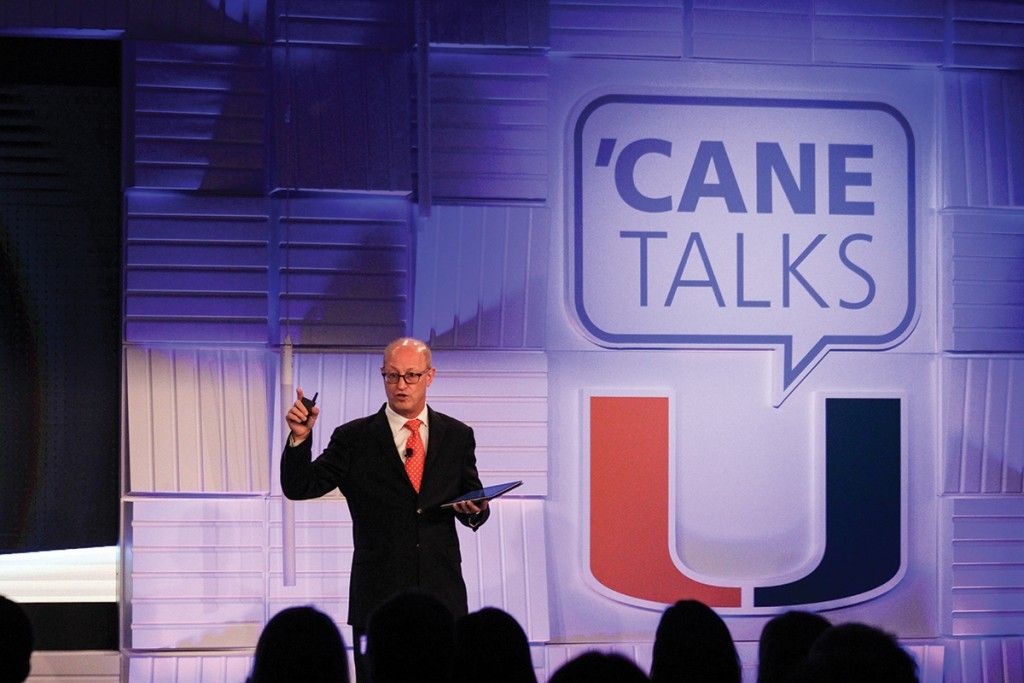 'Cane Talks unites campus leaders to discuss multidisciplinary challenges
