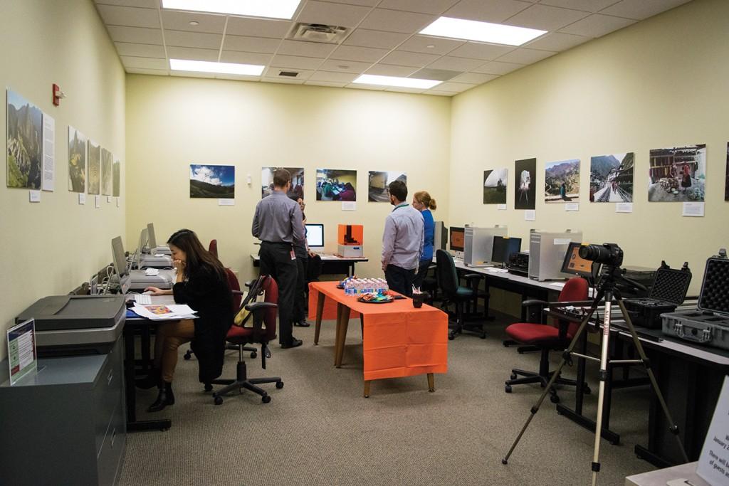 Digital Media Lab renovation upgrades library facilities, technologies
