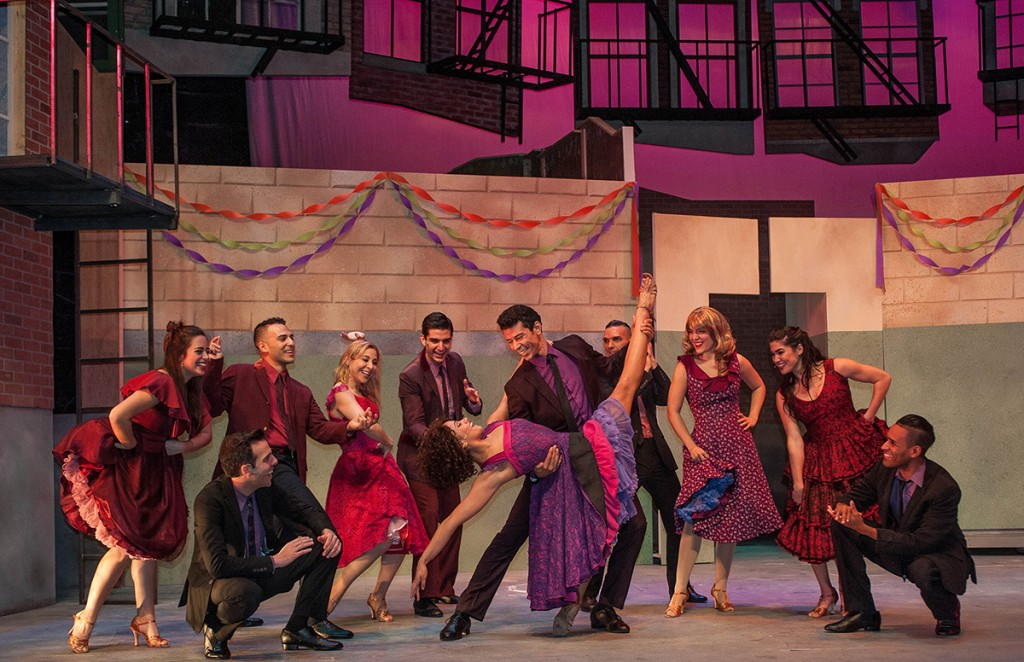The cast of West Side Story at Actors' Playhouse at the Miracle Theatre. West Side Story runs until Feb. 21. Photo Courtesy George Schiavone