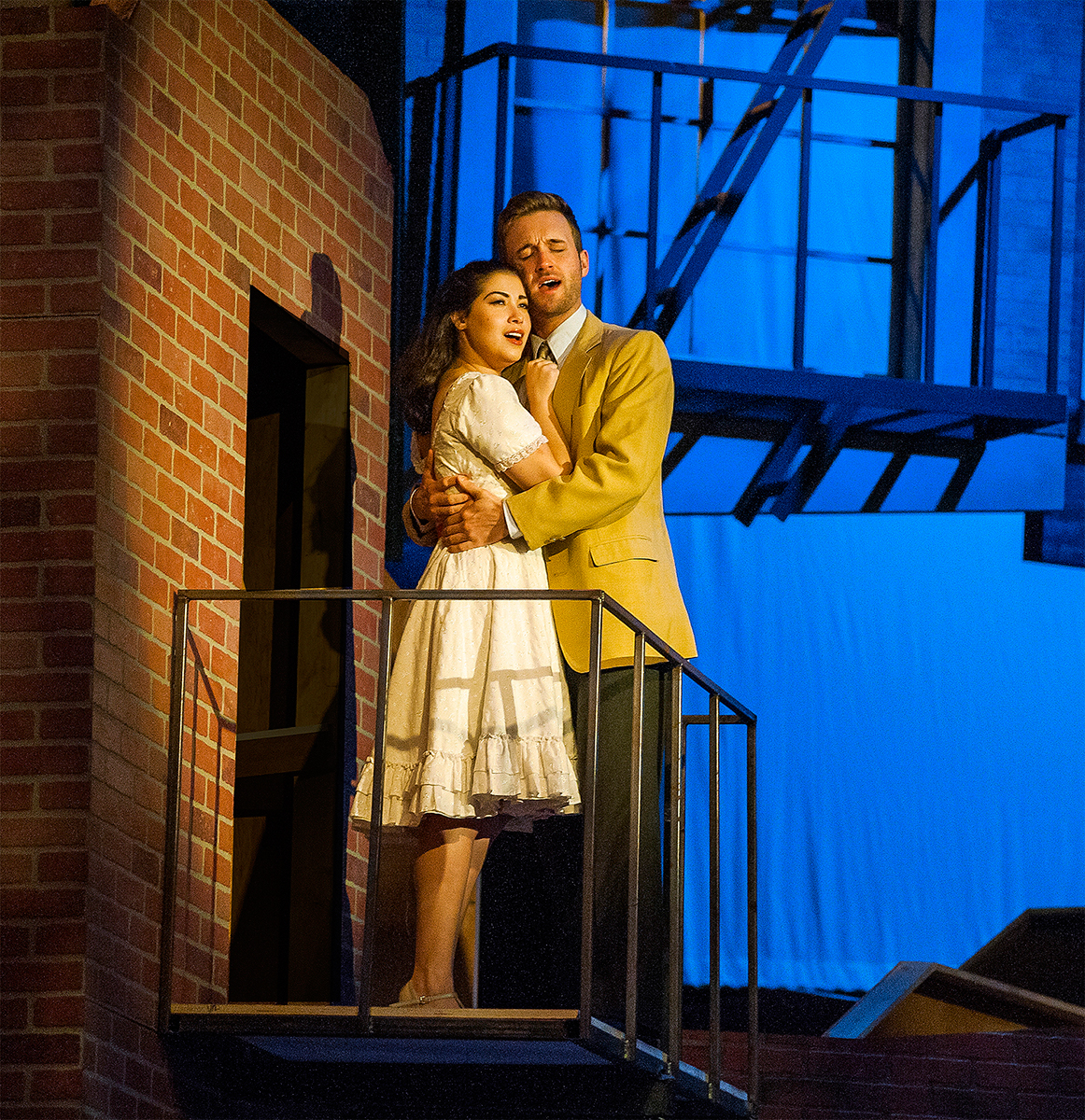 a review of the play west side story West side story book by arthur laurents lyrics by stephen sondheim music by  leonard bernstein originally conceived, directed and.