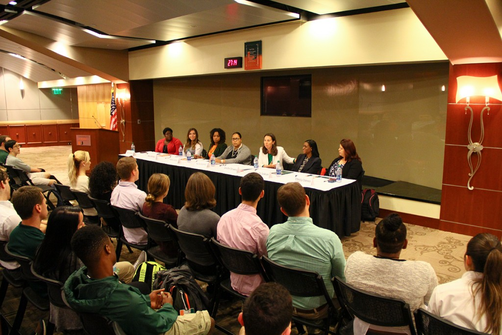 Photo of the Week: Female Career in Sports Panel