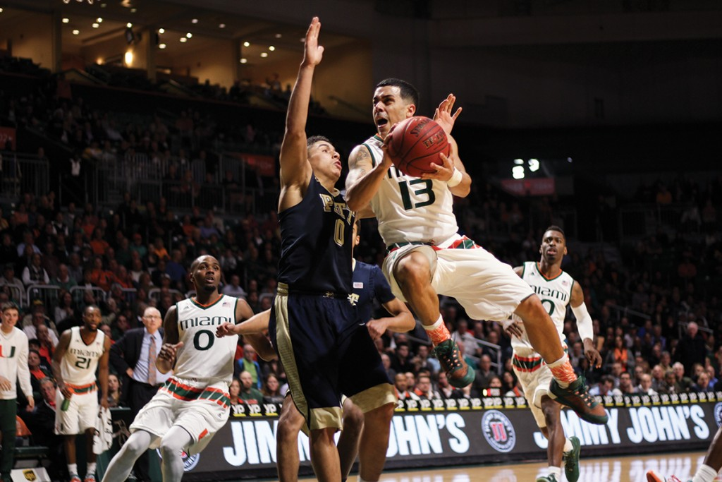 Photo of the Week: Miami Hurricanes' Angel Rodriguez in action
