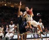 Miami men's basketball beats Pitt 65-63 with last-second save