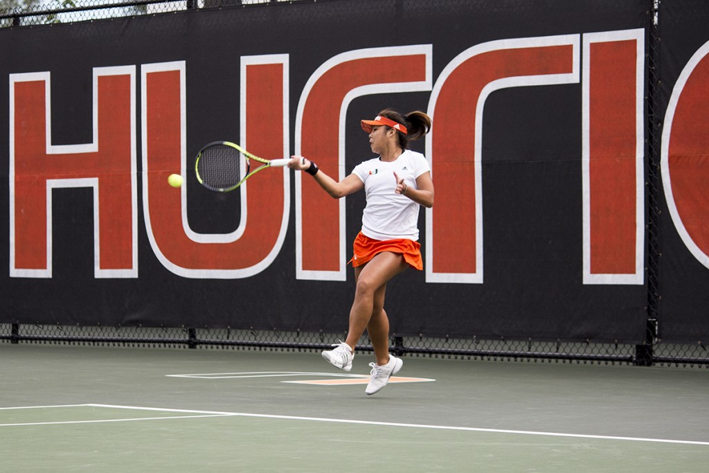 Hurricanes tennis go 1-2 in ITA tournament