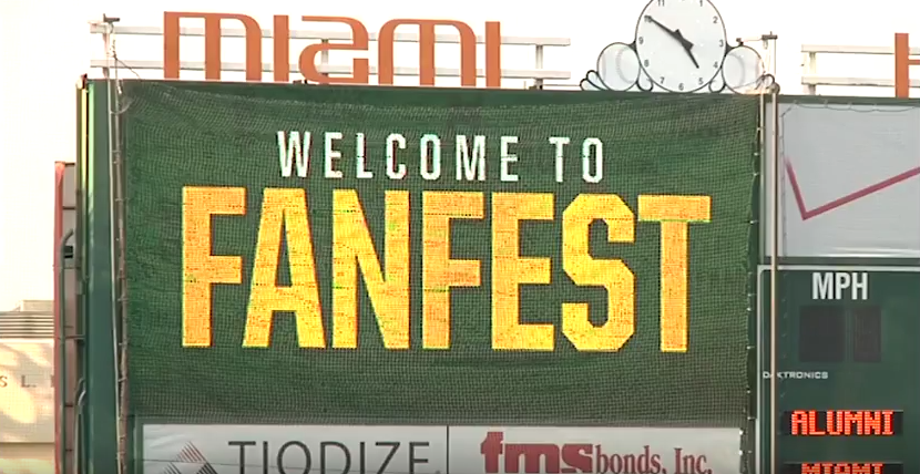 VIDEO: Baseball enthusiasts gather for Fan Fest at Mark Light Field