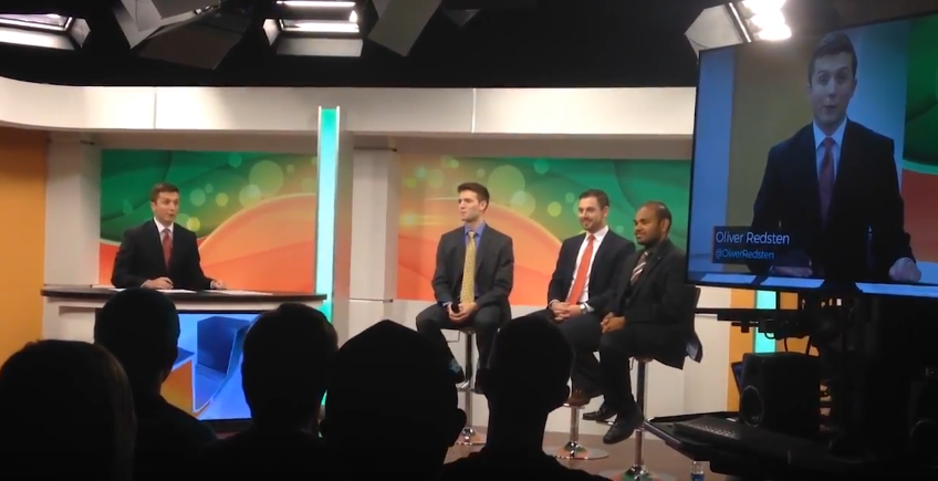 VIDEO: SG Presidential candidates debate issues over live broadcast