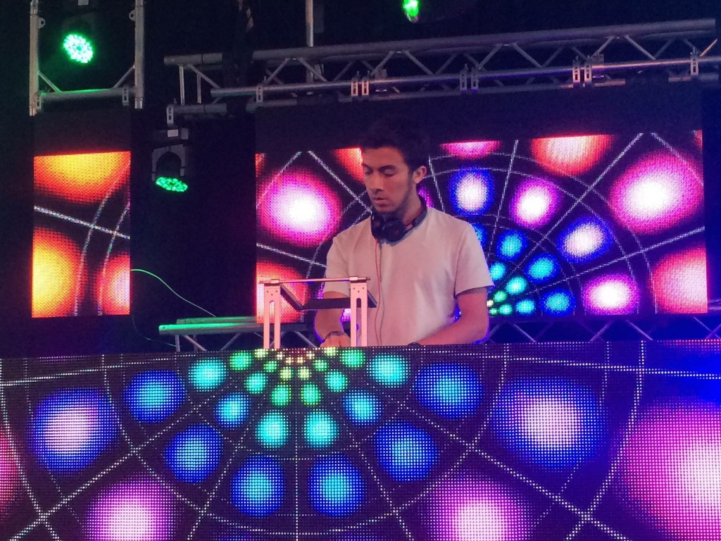 "Freshman Keenan Rodriguez performs on the Oasis stage of Ultra Music Festival last Friday under the name ""DJ K9"". Photo Courtesy Keenan Rodriguez"