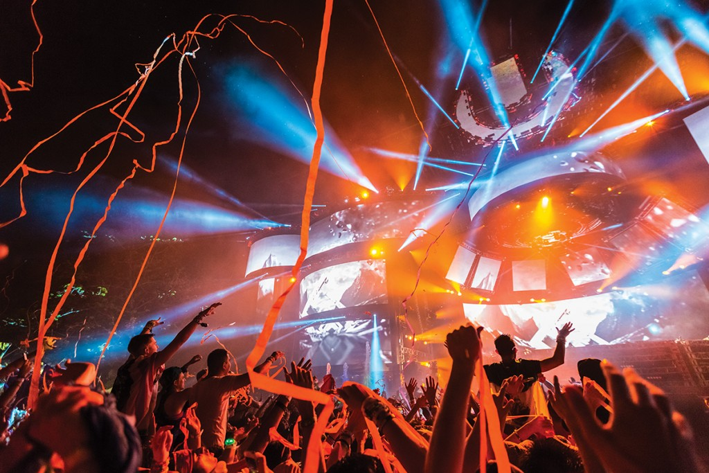 Ultra debutes live festival broadcasts