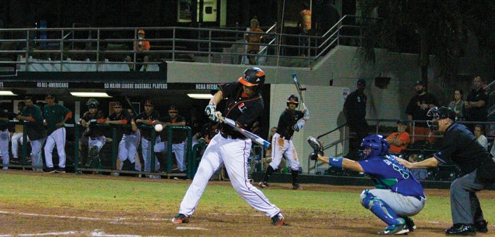 Top-ranked Hurricanes baseball falls 7-3 to Virginia, loses second series of season