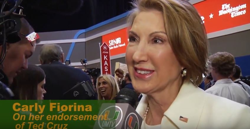 VIDEO: Carly Fiorina, Rick Scott, Ann Coulter discuss presidential race