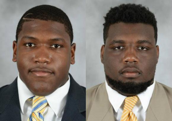 Offensive linemen Trevor Darling and Jahair Jones arrested